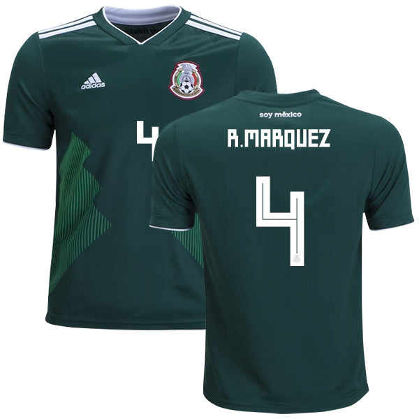 R. Marquez 2018 Mexico National Team Jersey - La Vinotinto Shop