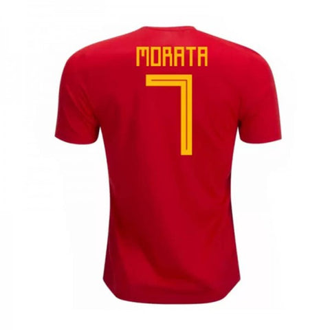 2018 Morata Spain National Team Jersey