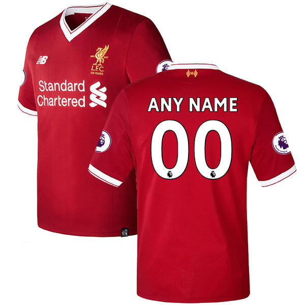 Personalize Your Liverpool FC Home Jersey - La Vinotinto Shop