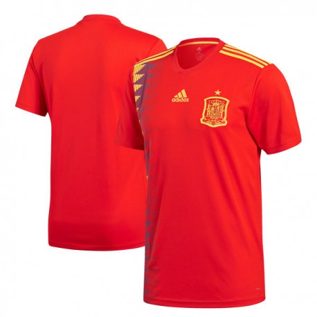 Personalize Your 2018 Spain National Team Jersey