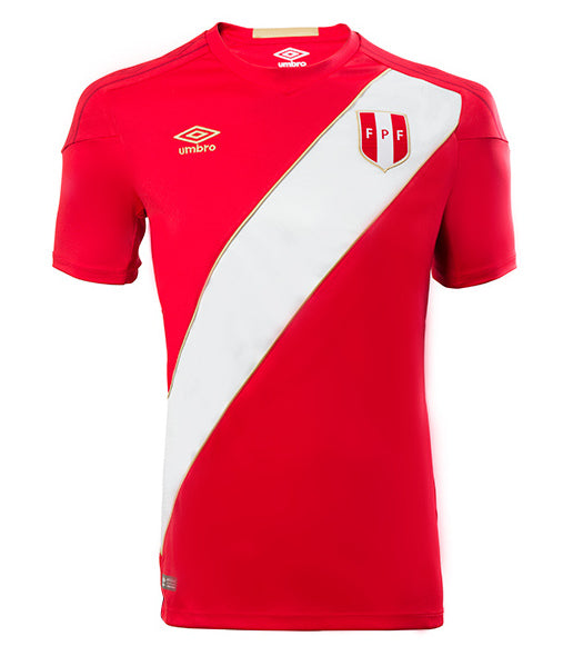 2018 World Cup Peru National Team Away Jersey - Umbro - La Vinotinto Shop