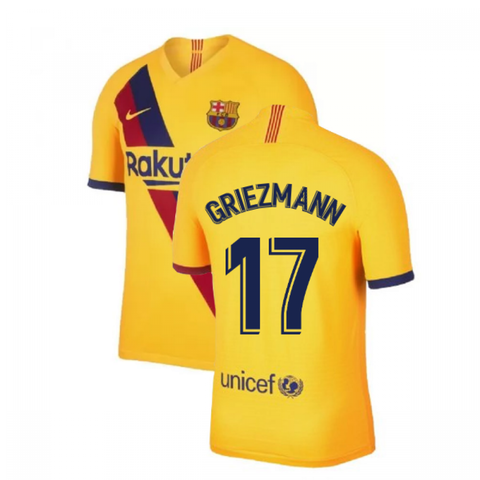 2019-20 Season Barcelona Club Nike Men's Griezmann #17 Team Away Jersey