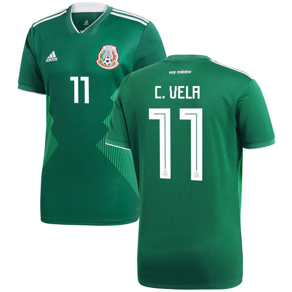 C. Vela 2018 Mexico National Team Jersey - La Vinotinto Shop