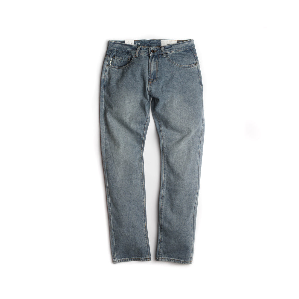 Load image into Gallery viewer, Kennedy Denim Co 1903 Classic Washed Denim 'Stone Indigo'