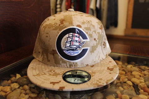 "Columbus Clippers New Era ""Big C"" Fitted ""Digi-Camo"""