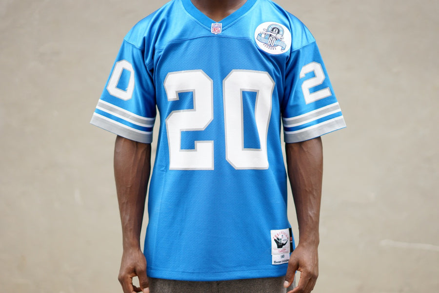Mitchell & Ness Barry Sanders Lions Jersey