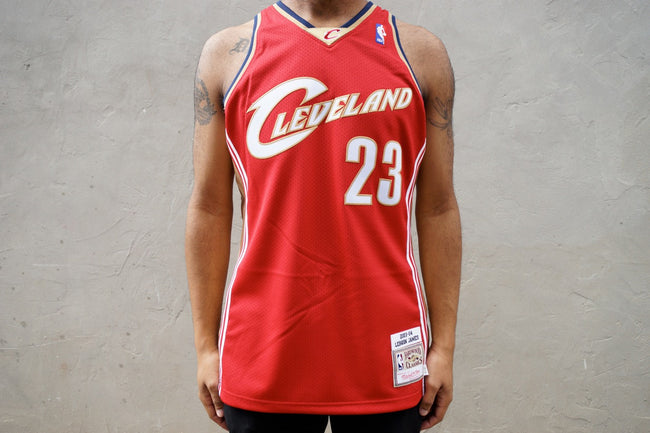 Mitchell & Ness LeBron James Cleveland Cavalier Jersey