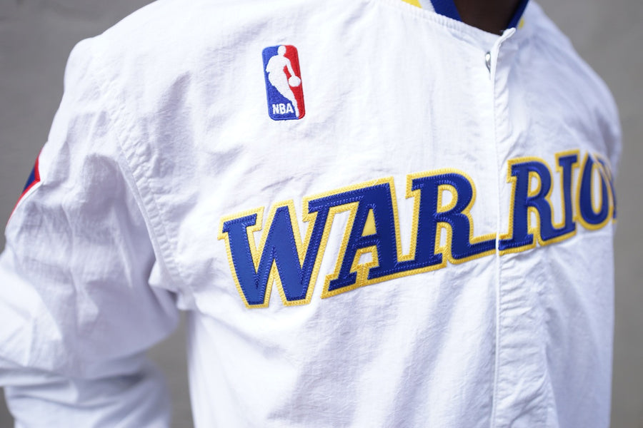 Mitchell & Ness 1996-97 Authentic Warm Up Jacket Golden State Warriors