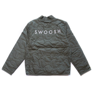 Load image into Gallery viewer, Nike Sportswear Swoosh Quilted Jacket 'Twilight Marsh'