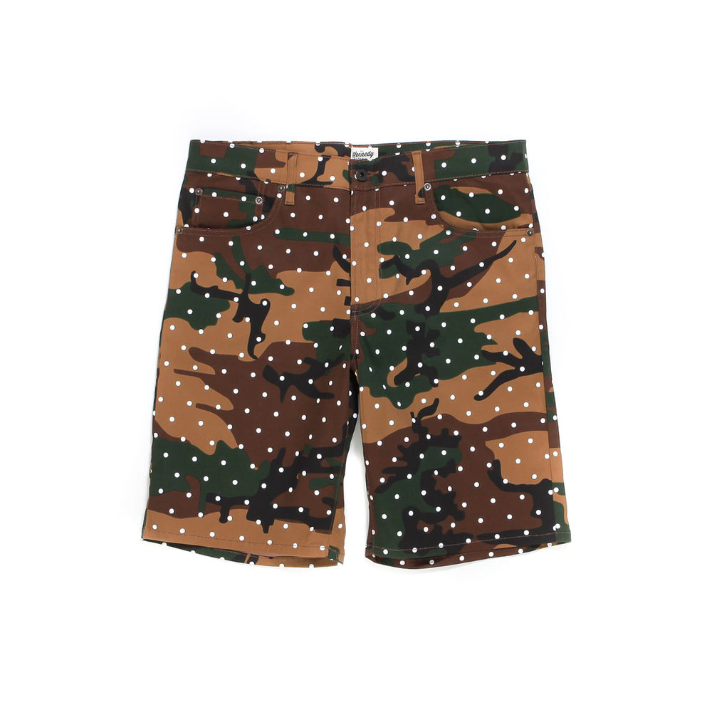 Kennedy Denim Co Woodland Camo Shorts