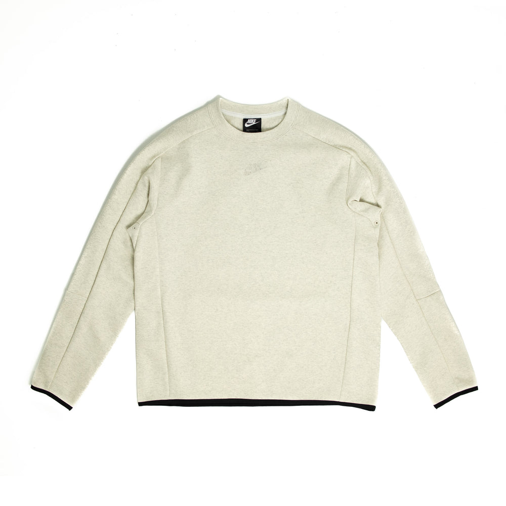 Nike Grind Tech Fleece Crewneck 'Heather White'