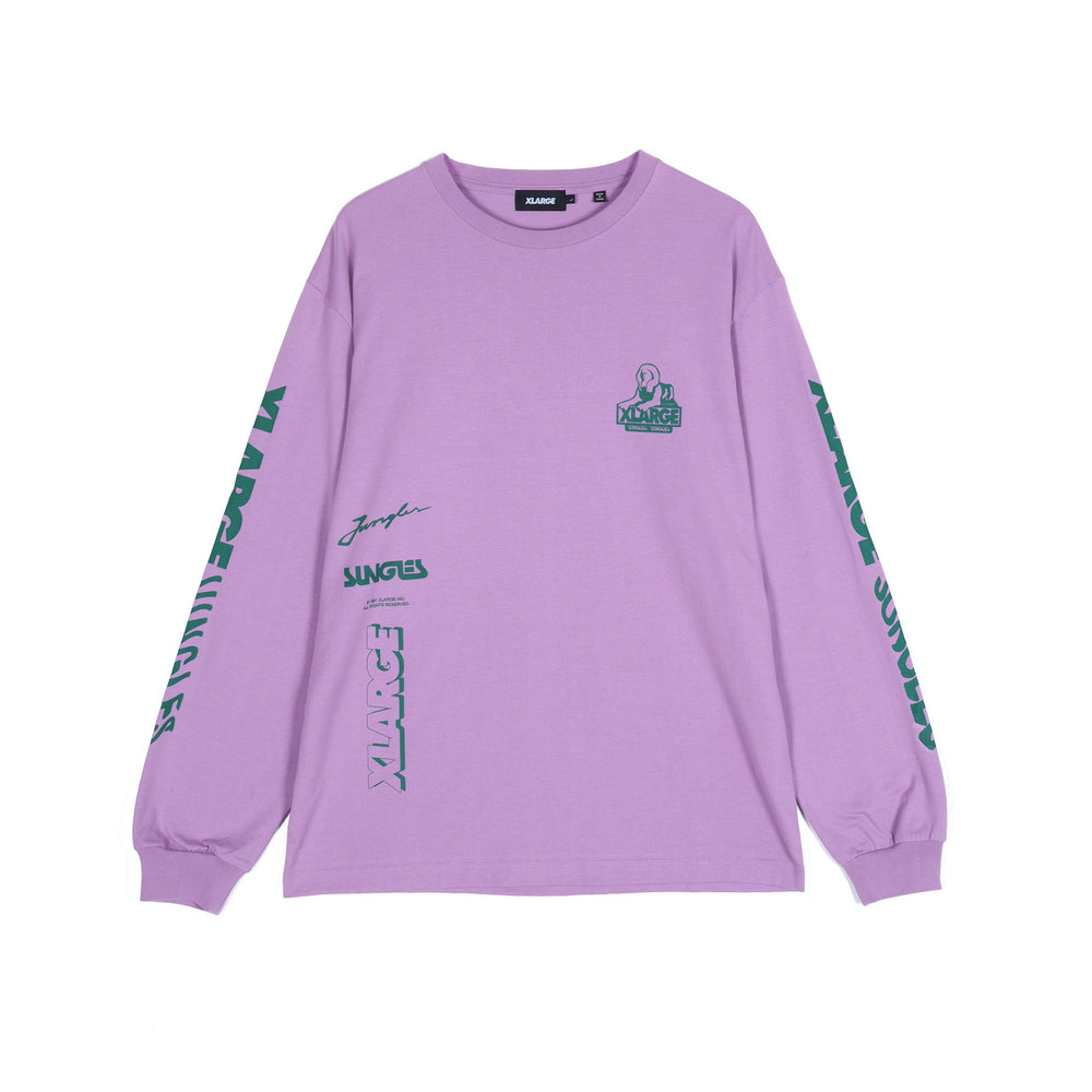 Load image into Gallery viewer, Jungles JUNGLES x XLARGE OG Spinx Logo L/S 'Purple'
