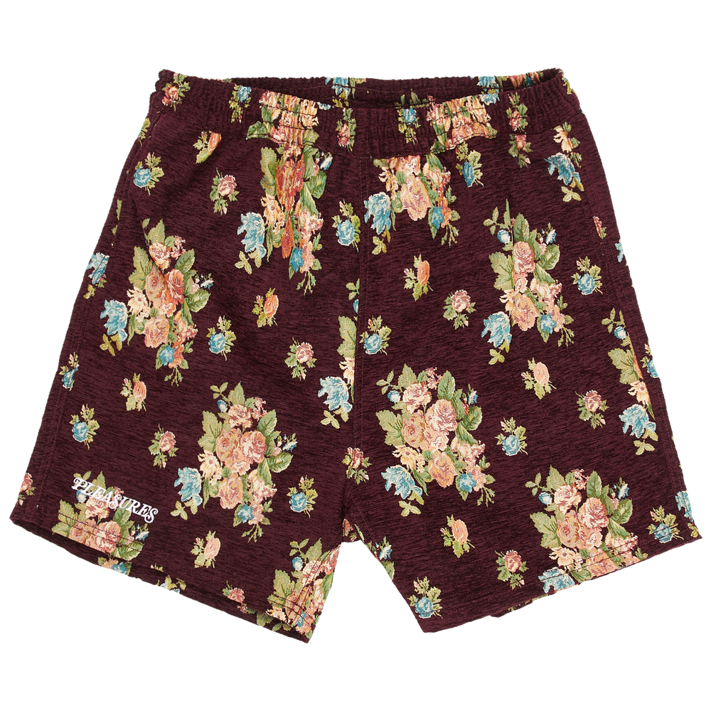 Load image into Gallery viewer, Pleasures Dejavu Woven Floral Shorts