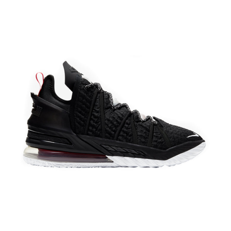 Lebron 18 'Black/ University Red'