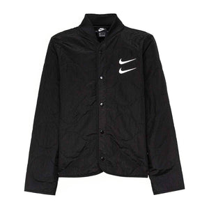 Load image into Gallery viewer, Nike Sportswear Swoosh Quilted Jacket 'Black'