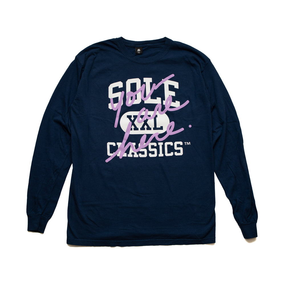 Sole Classics Athletic Department L/S T-Shirt 'Navy'
