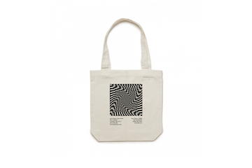 Sole Classics Warped Canvas Tote
