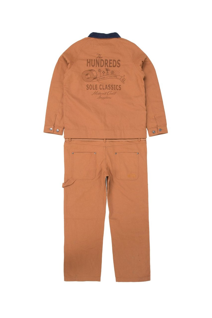 The Hundreds x Sole Classics Mahoning Coveralls