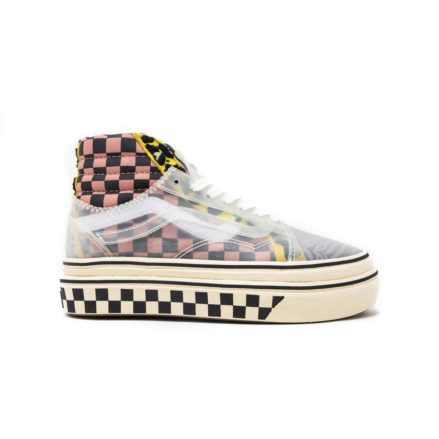 Women's Vans Mixed Media Super ComfyCush SK8-Hi