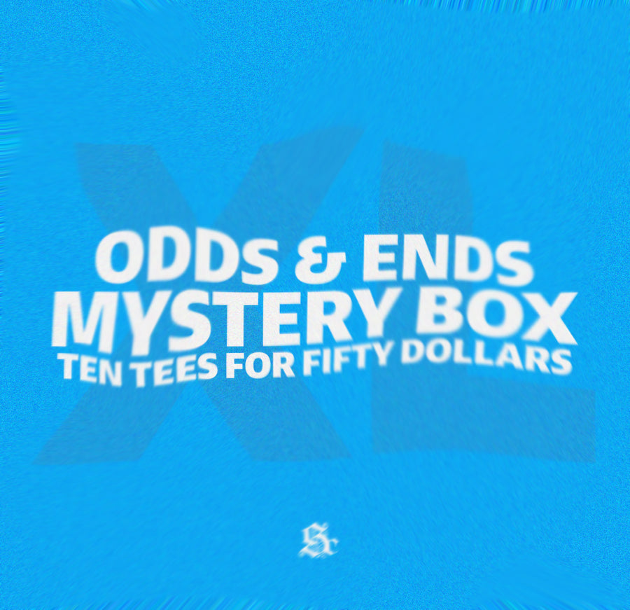 Odds & Ends T-Shirt Mystery Box