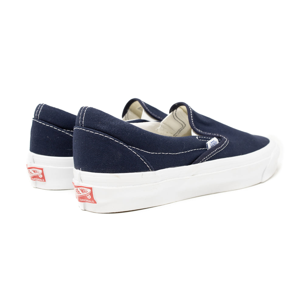 Load image into Gallery viewer, Vans Vault OG Classic Slip-On LX 'Navy'