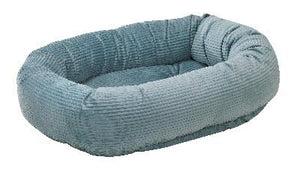 Bowsers Blue Bayou Microcord Donut Bed