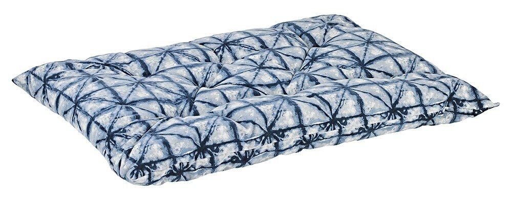 Bowsers Shibori Diamond Microvelvet Tufted Cushion