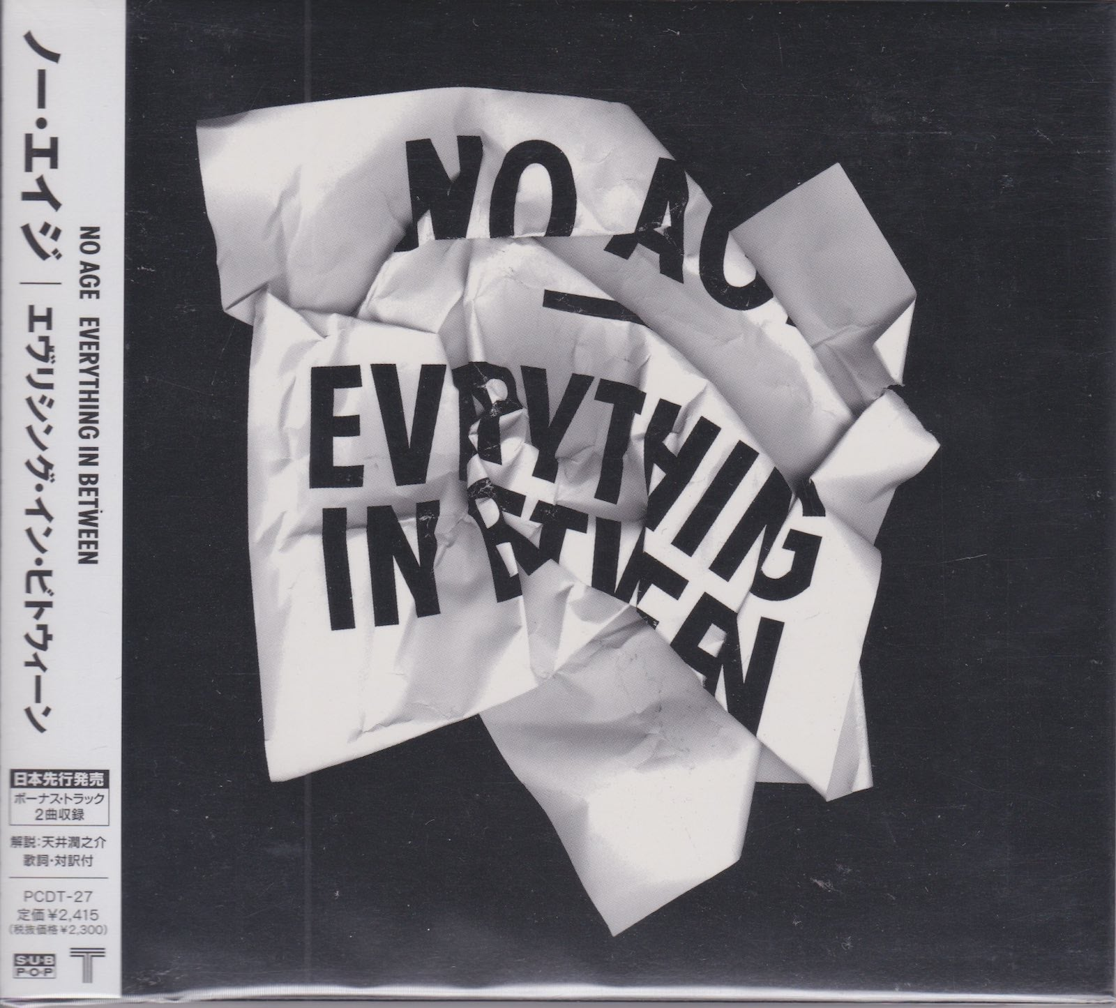 No Age ‎– Everything In Between