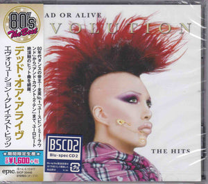 Dead Or Alive ‎– Evolution: The Hits     (LIKE NEW)