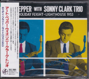 Art Pepper With Sonny Clark Trio ‎– Holiday Flight - Lighthouse 1953   (USED)