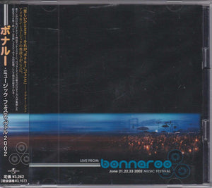 Various Artists ‎– Live From Bonnaroo June 21,22,23 2002 Music Festival     (USED)