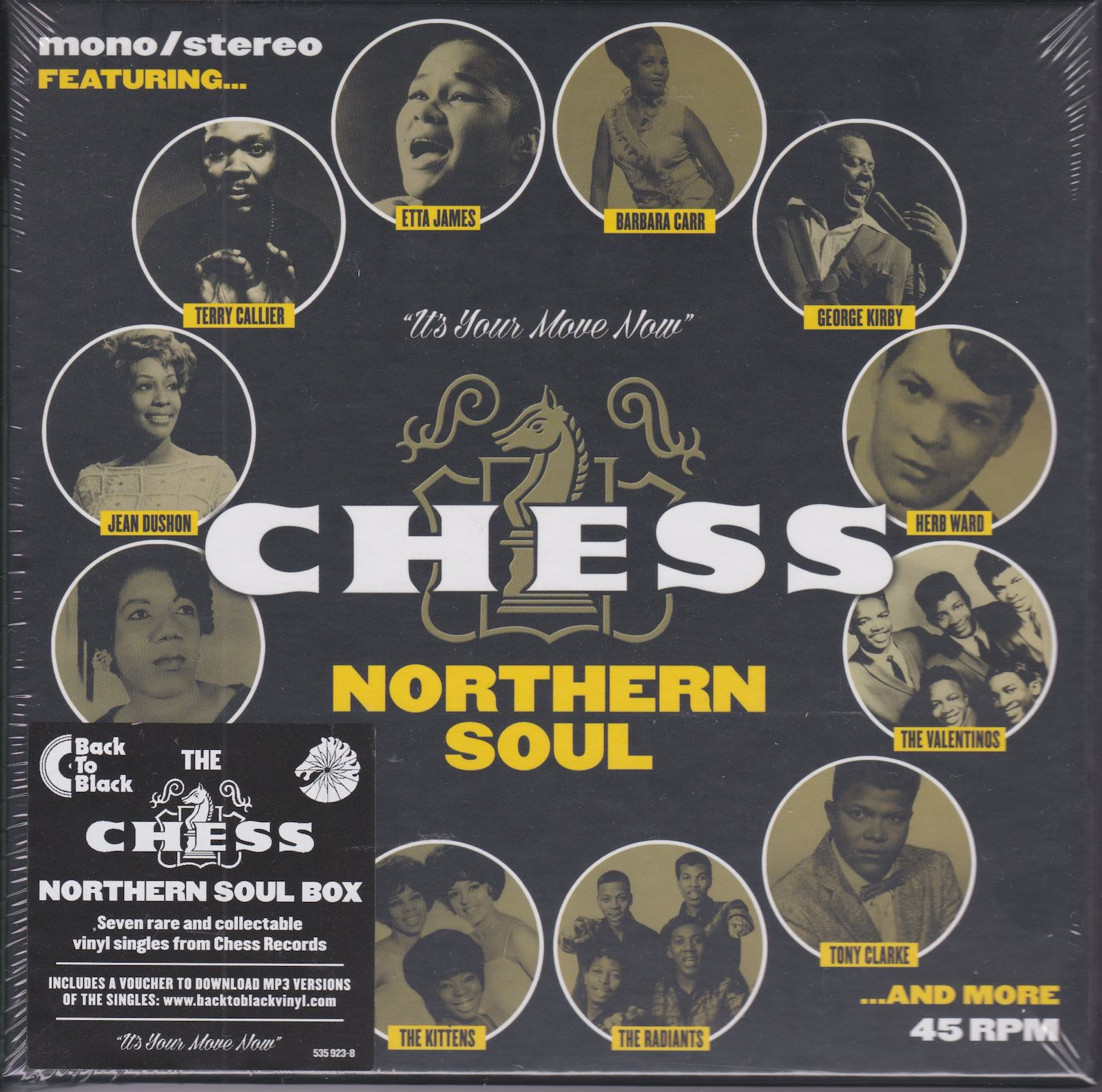 Various ‎– Chess Northern Soul