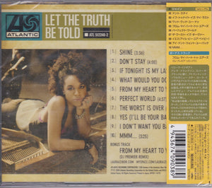 Laura Izibor ‎– Let The Truth Be Told