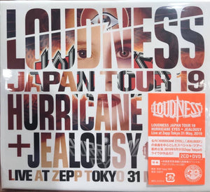 LOUDNESS JAPAN TOUR 19 HURRICANE EYES + JEALOUSY