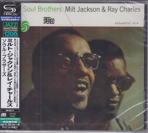 Milt Jackson & Ray Charles ‎– Soul Brothers