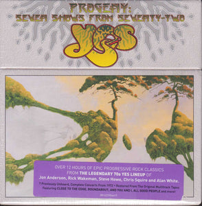 Yes ‎– Progeny: Seven Shows From Seventy-Two