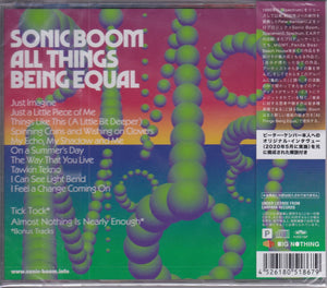 Sonic Boom - All Things Being Equal