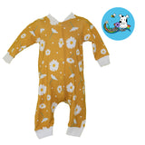Ochre Daisy Sleep Suit