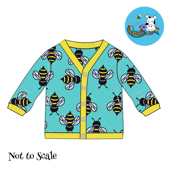 Clarabelle Cardigan - Bees