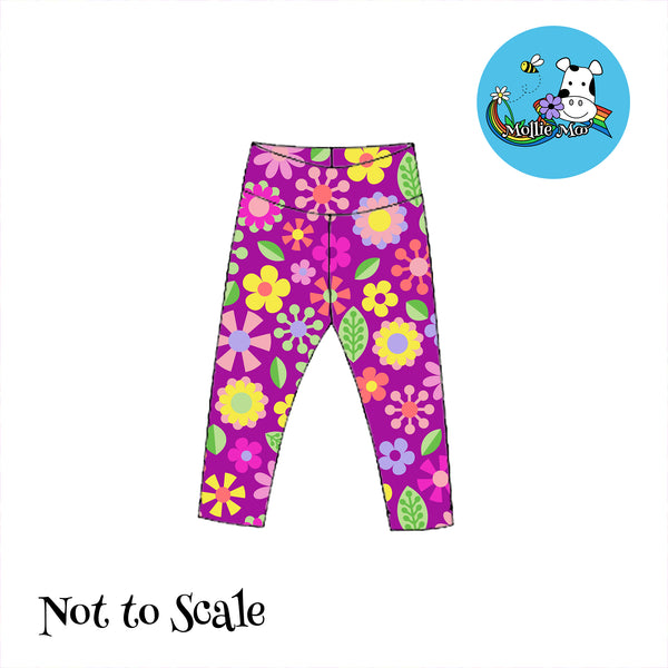 Lando Leggings - Jolly Flowers