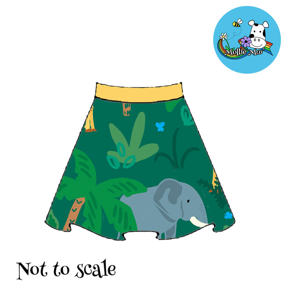 Phoebe Skirt - Jungle