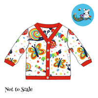 Clarabelle Cardigan - Primary Insects