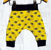 Organic Yellow Bee Jersey Harems