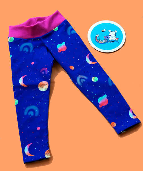 Space Jersey Leggings