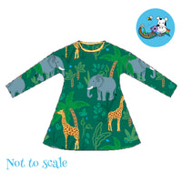 Bumba Dress - Jungle