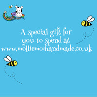 Mollie Moo Handmade Clothing Gift Voucher