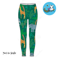 Liora Leggings - Jungle