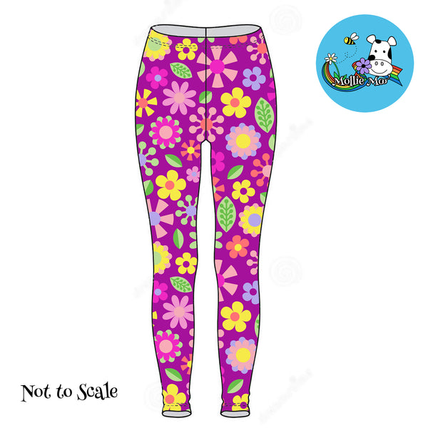 Liora Leggings - Jolly Flowers