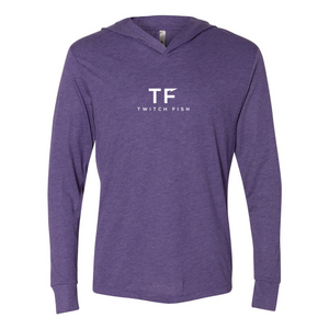 Triblend Hooded Long Sleeve Tee