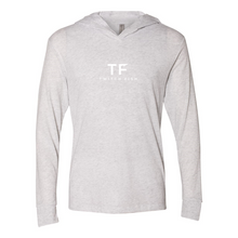 Load image into Gallery viewer, Triblend Hooded Long Sleeve Tee